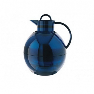 Термос-графин Alfi Shiny azur blue transparent 1,0 L