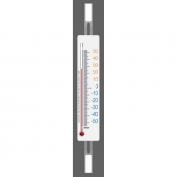 Термометр оконный спиртовой на липучках RST 02091