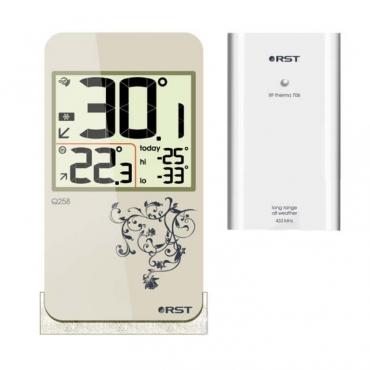 Цифровой термометр с радиодатчиком в стиле iPhone RST 02258