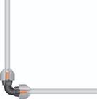 Соединитель L-образный 32 мм Gardena (02774-20)