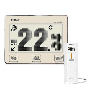 Цифровой термометр с радиодатчиком RST 02780