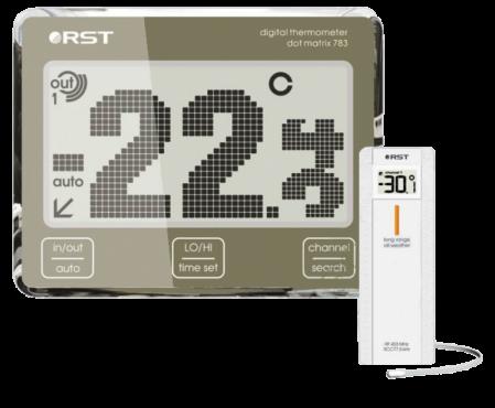 Цифровой термометр с радиодатчиком RST 02783