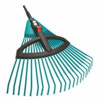 Грабли пластиковые веерные регулируемые Gardena (03099-20, 03104-20)
