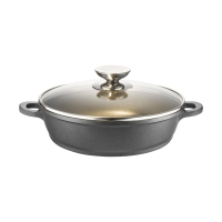 Сковорода с 2 ручками и c крышкой Berndes VARIO CLICK INDUCTION PLUS, 24 см (031565)
