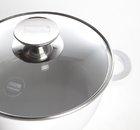 Кастрюля со стеклянной крышкой Berndes VARIO CLICK INDUCTION WHITE (Ø 20 см) (032143)