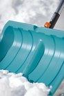 Лопата для уборки снега с кромкой из нержавеющей стали ES 50 Gardena (03243-20)