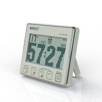 Цифровой таймер-секундомер с часами RST 04205