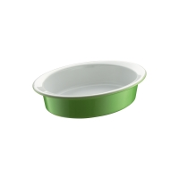 Форма для запекания овальная, размер 20 x 14, светло-зел. Berndes (054045)