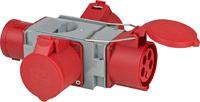 1081670 Brennenstuhl Силовая розетка-адаптер (1xCEE вилка 400V/32 A & 3xCEE розетки 400V/32 A)