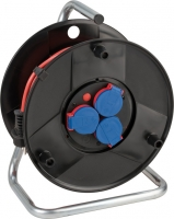 1098540001 Brennenstuhl Удлинитель на катушке 40м Garant, красный кабель, 3роз. IP44