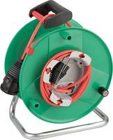 1098560001 Brennenstuhl Удлинитель на катушке 38+2м Garant, красный кабель, IP44