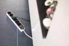 Удлинитель 1,5 м Brennenstuhl ECOLOR, 6 розеток, белый-черный (1153260020)