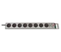 Сетевой фильтр 2,5 м Brennenstuhl Super-Solid, 8 розеток, серый (1153340318)