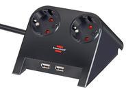 Удлинитель 1,8 м Brennenstuhl Desktop-Power-Plus, черный (1153500222)
