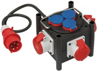 Распределитель Brennenstuhl Compact Power Distributor, вилка СЕЕ, 3 роз. CEE,3 роз. 220В (1153680100)