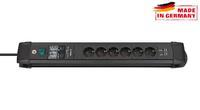 Сетевой фильтр 3 м Brennenstuhl Premium-Line 30.000A, 6 розеток, 2 USB (1156000536)