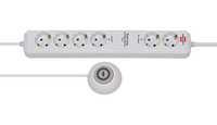 Удлинитель 1,5 м Brennenstuhl Eco-Line Comfort Switch Plus, 6 розеток, белый (1159560216)