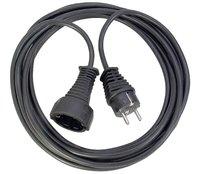 Удлинитель 2 м Brennenstuhl Quality Extension Cable, черный (1165010015)