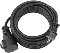 Удлинитель-переноска 10 м Brennenstuhl Extension Cable, 1 розетка, кабель черный, 3G1,5 (1167810)