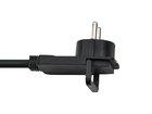 Удлинитель 10 м с плоской вилкой Brennenstuhl Quality Extension Cable, черный (1168980010)
