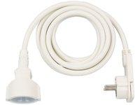 Удлинитель 3 м Brennenstuhl Quality Extension Cable, белый (1168980230)