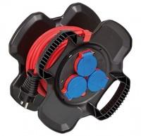 Удлинитель на катушке 10 м Brennenstuhl Compact Cable reel, кабель BREMAXX (1169717100)