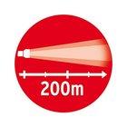 Фонарь светодиодный аккумуляторный Brennenstuhl, 450 лм (1178600400)