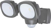 1178900200 Brennenstuhl Настенный светодиодный светильник с датчиком движения, 2x240лм, IP44
