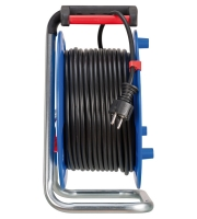 Удлинитель на катушке 50 м Brennenstuhl Garant, 3 розетки, 2 USB (1205060600)