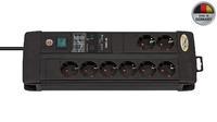 Сетевой фильтр 3 м Brennenstuhl Premium-Line 30.000A, 8 розеток, черный (1256000398)