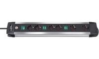 Удлинитель с выключателем 3 м Brennenstuhl Premium-ALU-Line (1391000078)