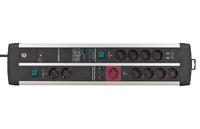Сетевой фильтр 3 м Brennenstuhl Premium-Protect-Line 120.000А, 11 розеток, 2 USB (1392000230)