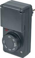 1506120 Brennenstuhl таймер электронный с датчиком темноты, вкл и выкл через 2,4,6,8 ч, IP44