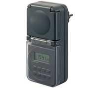 Таймер электронный Brennenstuhl, черный, IP44 (1506706)