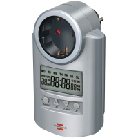 Таймер цифровой DT V2 Brennenstuhl, серый (1507500)