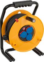 Удлинитель на катушке 25 м Brennenstuhl Brobusta,3 розетки, черный кабель 3G2,5 (1317440)