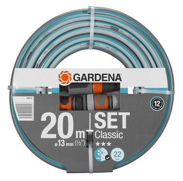 Шланг Gardena Classic 1/2 х 20 м с фиттингами (18004-20)