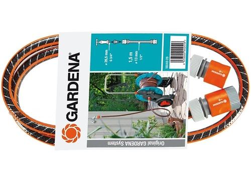 """Комплект соединительный Garden (содержит: 1,5 м садового шланга FLEX 13 мм (1/2""""), соединительные элементы) (18040-20)"""