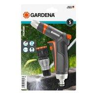 Комплект: Пистолет-наконечник для полива Premium + Коннектор с автостопом Premium Gardena (18306-20)