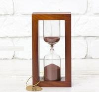 Стеклоприбор Часы песочные 4-30-5мин., песок коричневый, вишня (300600)