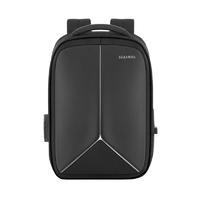 Рюкзак для ноутбука 15,6 дюйма SEASONS антивандальный MSP4013 с USB портом и выходом для наушников, черный