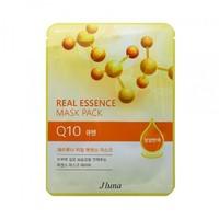 Тканевая маска с коэнзимом JLUNA Real Essence Mask Pack - Q10 (290131)