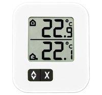 Термометр цифровой с внешним проводным датчиком TFA Moxx, белый (30.1043.02 EK)