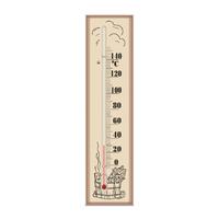 Термометр для сауны СТЕКЛОПРИБОР (300110)
