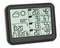 Цифровая метеостанция с 3 беспроводными датчиками TFA VIEW (35.1142.01)