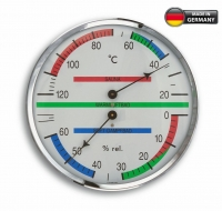 Аналоговый термогигрометр для сауны TFA 40.1013