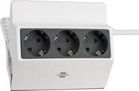 1150070 Brennenstuhl Сетевой удлинитель Extension Socket, 3 роз., IP20