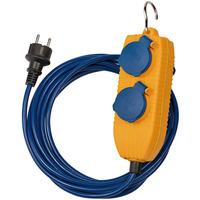 1161750020 Brennenstuhl удлинитель Extension Cable, 5 м., 2 роз.,синий, IP54