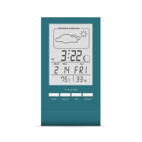 Термо-гигрометр цифровой с часами СТЕКЛОПРИБОР Т-14 (402349)