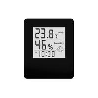 Термо-гигрометр цифровой с часами СТЕКЛОПРИБОР Т-17 (403318)